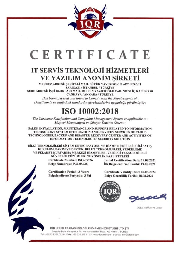 ISO 10002_2018